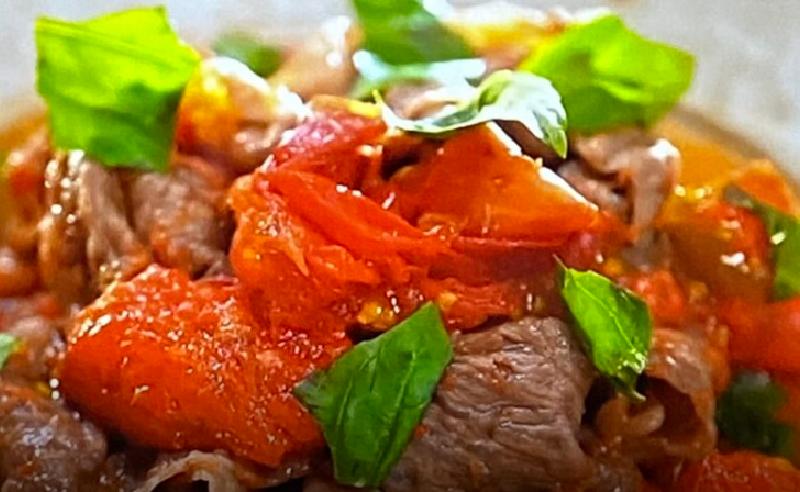 【土曜は何する】牛肉のトマト煮(牛トマ)の作り方 和田明日香さん地味ご飯レシピ(6月26日)