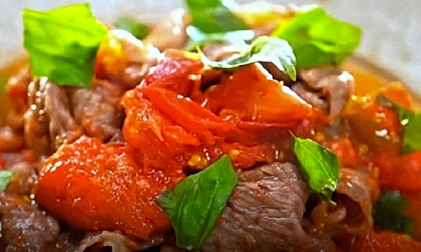 和田明日香土曜は何する牛肉のトマト煮(牛トマ)